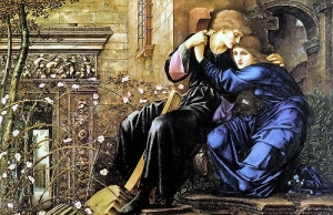Painting by Sir Edward Burne-Jones, inspired by Robert Browning's poem of the same name