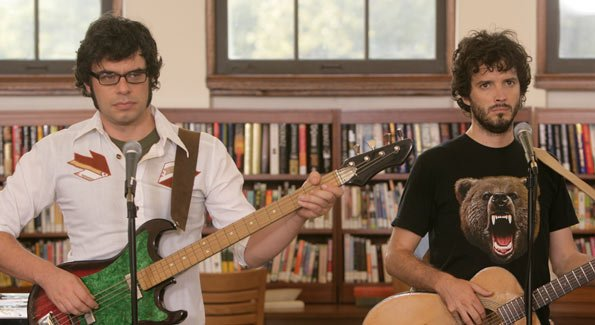 Jemaine and Bret - Who like to rock the party.