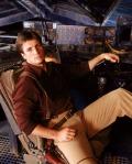 Nathan Fillion as Mal Reynolds on Joss Whedon's Firefly