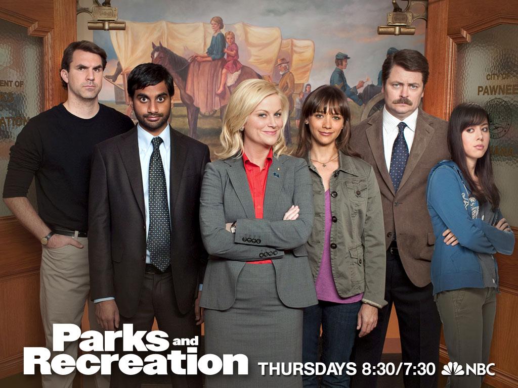 Parks and Recreation, NBC Thursdays 8:30/7:30c