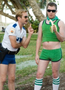 Nick Swardson as Terry, the Rollerskating Male Prostitute on Reno 911!
