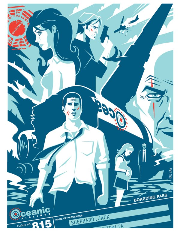 Lost poster by Eric Tan